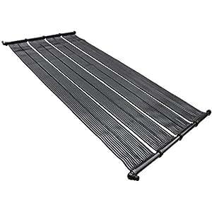 Roof swimming pool solar heating panel heater garden outdoor for Swimming pool solar heaters amazon