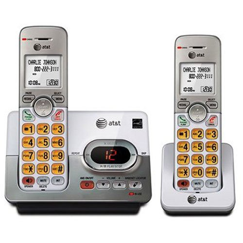 AT&T EL52203 2 Handset Cordless Answering System with Caller ID/Call Waiting