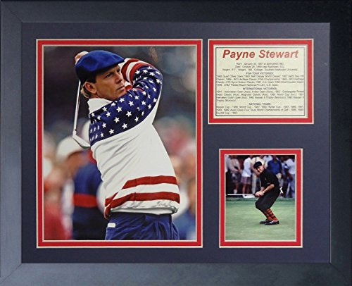 11x14 FRAMED PAYNE STEWART PGA TOUR VICTORIES LIST PGA GOLF CHAMPION 8X10 PHOTO