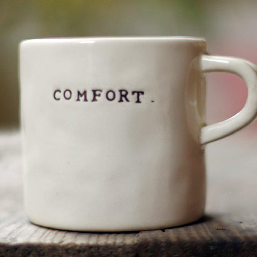 WukongセラミックコーヒーマグカップA Warmティーカップ( 400ml ) ホワイト  Comfort B06Y622K5F