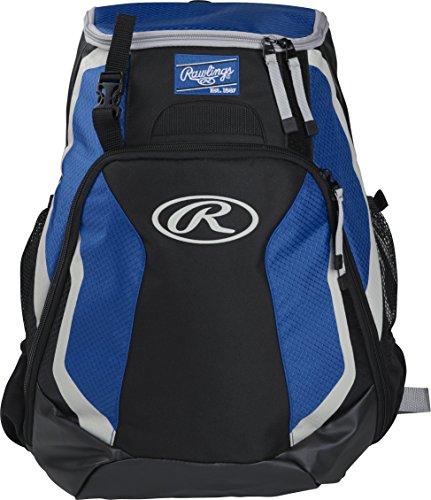 Rawlings R500 Series Baseball/Softball Backpack, Royal Blue