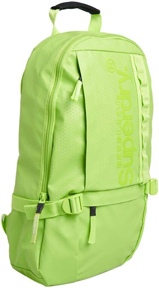 Superdry Slimline Tarp Backpack - Lime