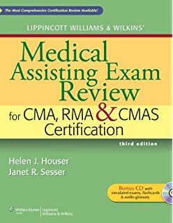 Medical assisting exam review preparation for the cma and rma exams lippincott williams wilkins medical assisting exam review for cma rma cmas certification fandeluxe Gallery