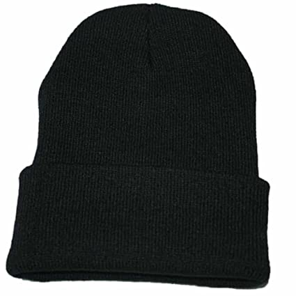 Top Level Mens Women Beanie Knit Ski Cap Hip Hop Cuffed Blank Color Winter Warm Unisex Running Cap Cotton Hat Sports Accessories Running Caps