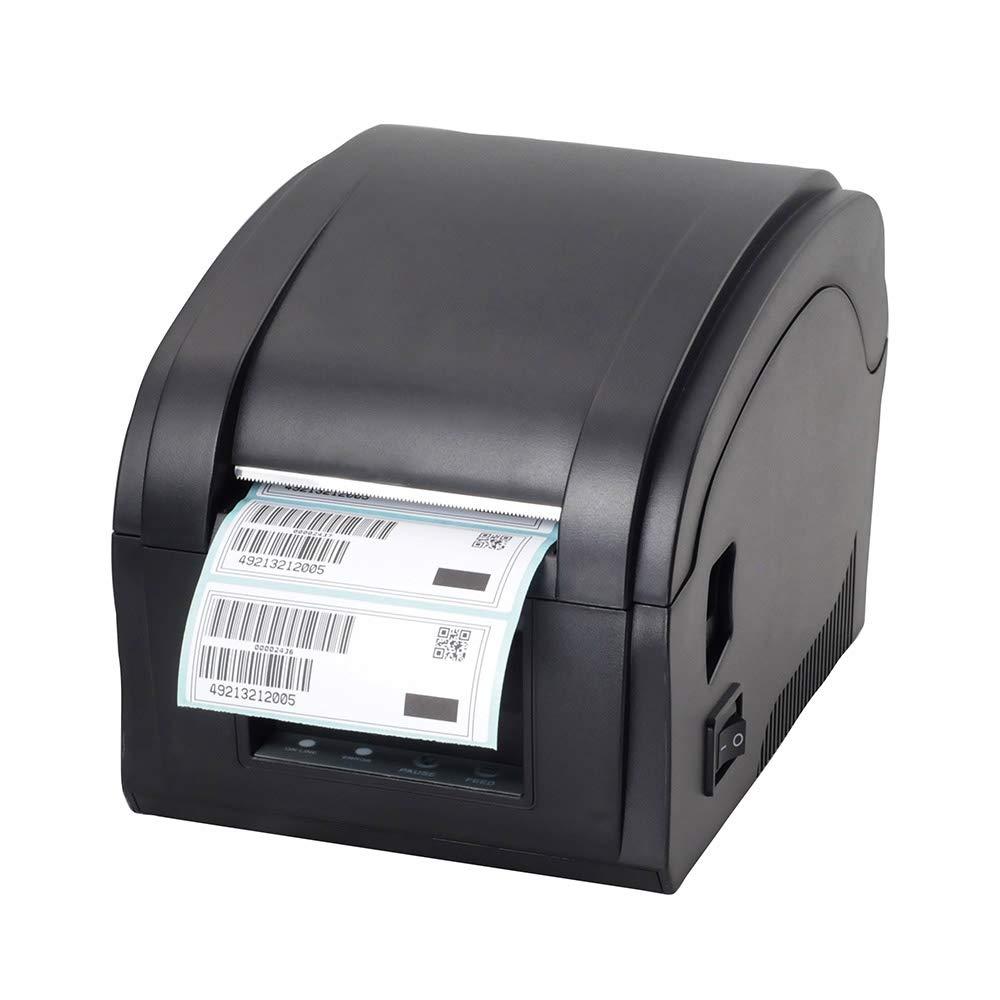 JEPOD XP-360B label barcode printer thermal receipt or label printer 20mm to 80mm thermal barcode printer USB
