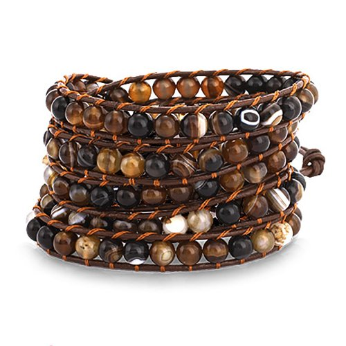 chen-rai-shades-of-brown-colored-bead-long-wrap-brown-leather