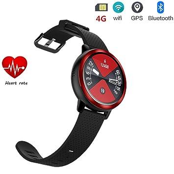 smart watch 4g Reloj Inteligente 2019 Android7.1.1 Mtk6739 GPS Deportivo Reloj Inteligente Hombres con Ranura para Tarjeta Sim Ip67 Impermeable Bluetooth ...