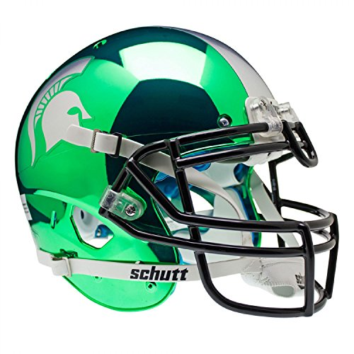 MICHIGAN STATE SPARTANS NCAA AUTHENTIC AIR XP FULL SIZE HELMET (ALTERNATE 2)