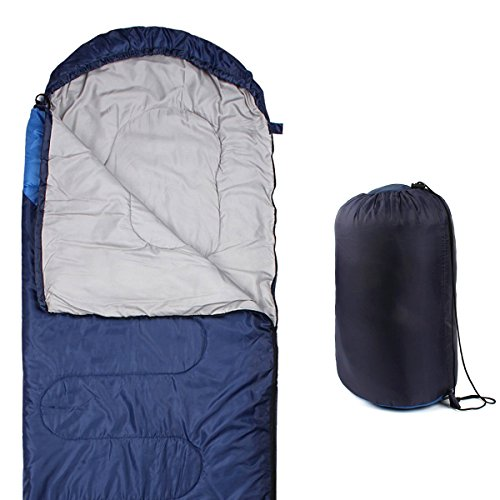 Hippih Comfort Sleeping Bag - Lightweight Portable & Waterproof, Great for Camping, Traveling, Hiking & Outdoor Activities of 4 Seasons