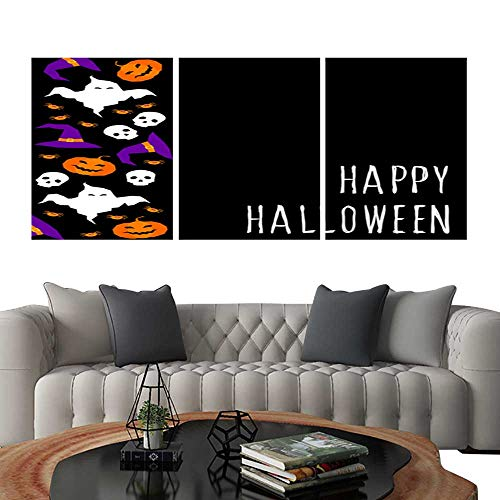 UHOO Prints Wall Art PaintingsHappy Halloween Card Template 2. Customizable Wall Stickers 24