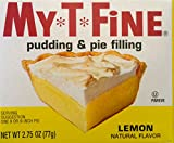 jello lemon pie filling - Lemon Pudding and Pie Filling Mix By My T Fine - 2.75 Ounce Box - 2 Box Pack