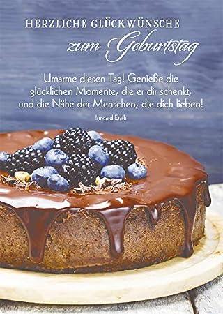 Postkarte Herzliche Gluckwunsche Zum Geburtstag 10 St