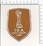 fifa champions patch - IRON ON EMBROIDERED PATCH FIFA WORLD CHAMPIONS 2010
