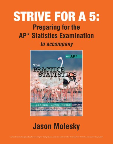 Strive for a 5: Preparing for the AP* Statistics Examination
