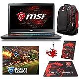"""MSI GP72X Leopard-667 (i7-7700HQ, 16GB RAM, 128GB NVMe SSD + 1TB HDD, NVIDIA GTX 1050 4GB, 17.3"""" Full HD, 120Hz, Windows 10) Gaming Notebook"""