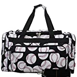 NGIL Travel Duffel Bag, Baseball (23-inch)