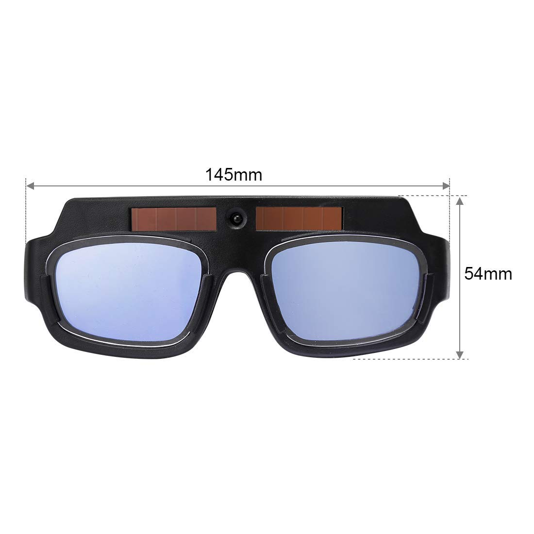 LETBUY Welding Glasses Mask Helmet Eyes Goggles, Solar Auto Darkening Welding Goggle Safety Protective Eyes Goggle, Professional PC Lens Welder Soldering Mask Anti-Flog Anti-Glare Goggles by LETBUY-Tech (Image #2)