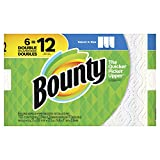 Appliances : Bounty Select-a-Size Paper Towels - 6 Double Rolls