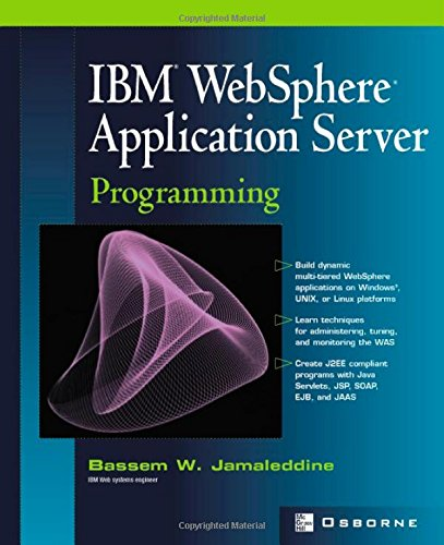 Buy IBM Websphere Application Server Programming (Developers