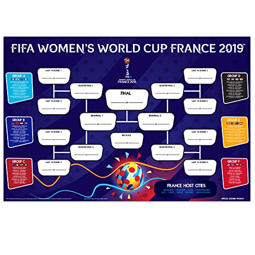 FIFA Women's World Cup 2019 | The Official Wallchart