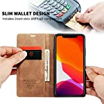 bounceback® apple iphone 11 pro case cover leather magnetic flip back stand case/cover for apple iphone 11 pro…
