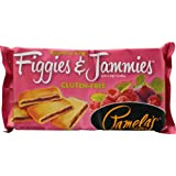 Pamela's Products Figgies & Jammies Extra Large Cookies Gluten Free Raspberry & Fig -- 9 oz (Pack of 4)