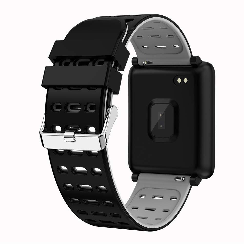 Amazon.com: MiniPoco Tech F3 Smart Bracelet Heart Rate ...