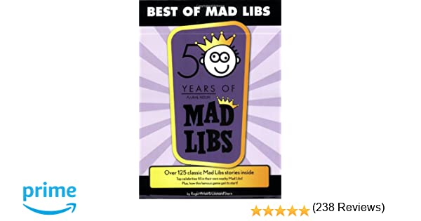 Best of Mad Libs: Roger Price, Leonard Stern: 8580001052151 ...