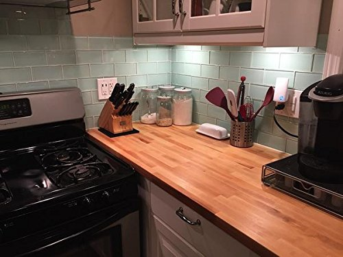 10 Sq Ft - Ice Age Light Blue Green 3x6 Glass Subway Tiles by Rocky Point Tile (Image #5)