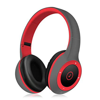 Auriculares Bluetooth inalámbricos Head-Mounted Sports Running Fitness Teléfono Dobles Pluggable Cartoon Puede Responder Teléfono
