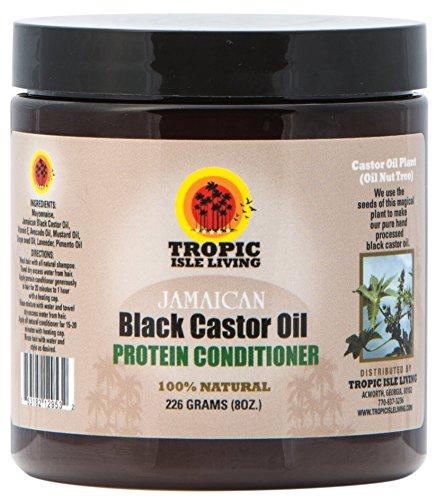 Tropic Isle Living- Jamaican Black Castor Oil Protein Hair Conditioner-8oz
