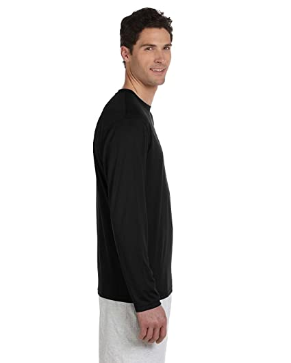 4a543f251 Champion Men`s Double Dry Long Sleeve Tee at Amazon Men's Clothing store: