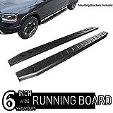 Automotive : ONINE 6 Inch Black Running Boards Custom Fit 2019-2020 Dodge Ram 1500 New Body Crew Cab Rocker Panel Mount Side Step Nerf bar (do not fit 2019 ram 1500 Classic)