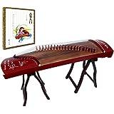 OrientalMusicSanctuary Paulownia Travel Guzheng - Rosewood - Travel Sized Guzheng - INCLUDES COMPREHENSIVE TUTORIAL BOOK…