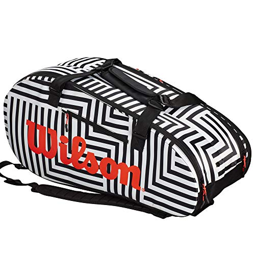 Wilson Super Tour 2 Compartment Large Tennis Bag – Bold Edition