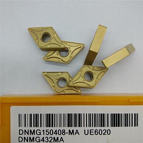 10pcs DNMG432MA DNMG150408-MA 6020 New Carbide Inserts