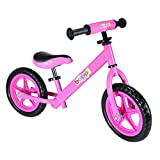 Boppi No Pedal BMX Pink Balance Bike for kids