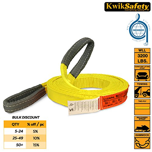 "KwikSafety 1""x30' Industrial Web Sling 