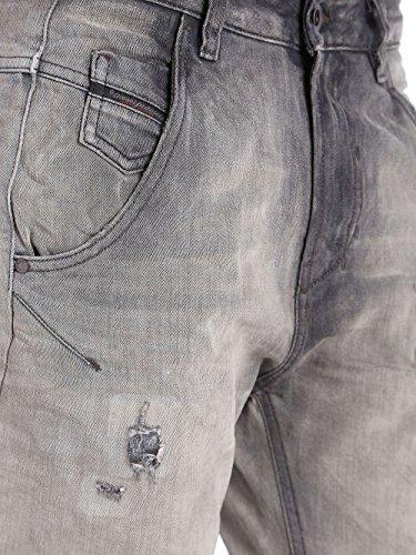 Jeans 0837E Diesel Femmes Gris Pantalons Fayza Grey Boyfriend Z4pfwqawBx
