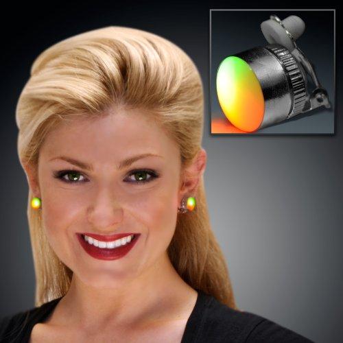 Set of 25 Aurora Slow Color Change LED Clip On Pins