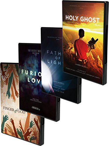 Wanderlust 4 DVD Set - Holy Ghost / Furious Love / Father of Lights / Finger of God