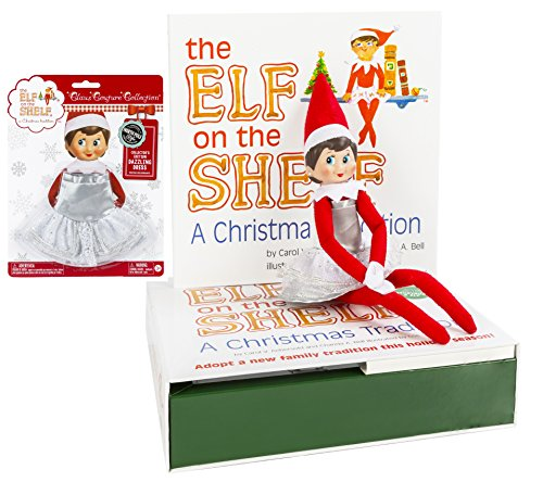 Movies That Start With The Letter E (Elf on the Shelf Holiday Gift Bundle: Girl Scout Elf (Blue Eyes) With Christmas Tradition Storybook and Collector's Edition Dazzling Dress (Silver))