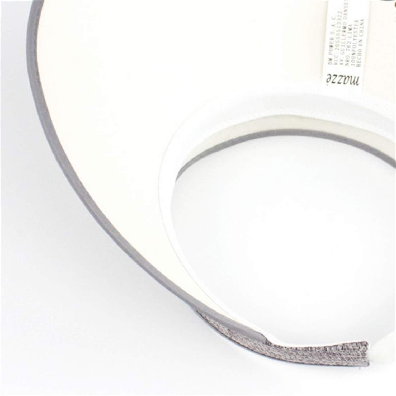 Summer Breathable Straw Braid Linen Sun Visor Cap Vintage Plaid Solid Empty Top