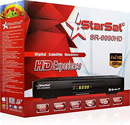 Starsat SR-9990HD Satellite Receiver: Amazon com: abooabbas