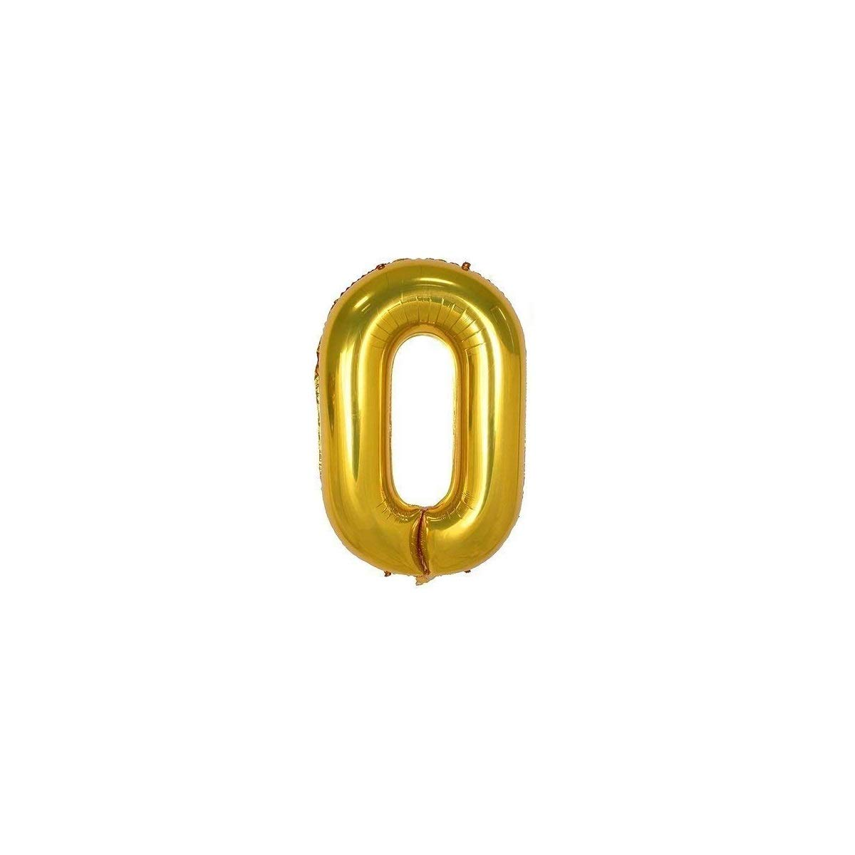 JANOU 2020 Balloons Gold 40 Inch Numbers Helium Foil Balloons for Graduation Wedding Christmas New Year Party Suppliers