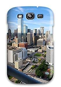 2679562K12286379 For Dallas City Protective Case Cover Skin/galaxy S3 Case Cover