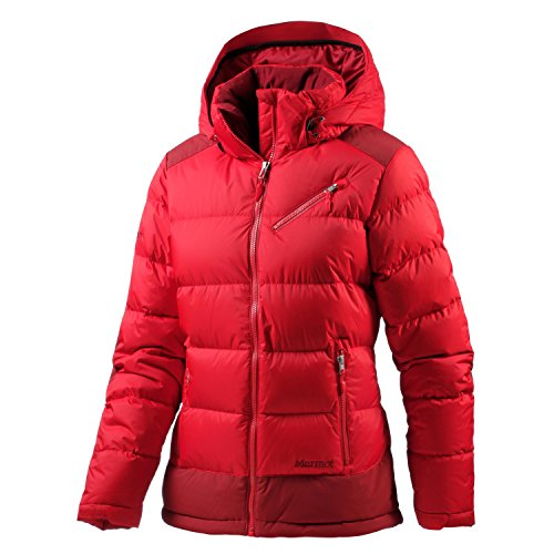 (Marmot Women's Sling Shot Jacket, Cherry Tomato/Dark Crimson MD)