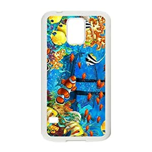 The Boat In The Sea Hight Quality Plastic Case for Samsung Galaxy S5 by icecream design