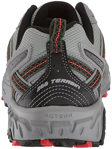 New Balance Men's MT410v5 Cushioning Trail Running Shoe, Steel, 8 D US by New Balance (Image #2)