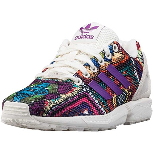 new style e9063 a8c02 Envio gratis adidas ZX Flux W Calzado 6,0 off whitemid grape